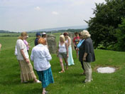 Dowsing course at coldrum stones