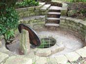 Chalice well Glastonbury