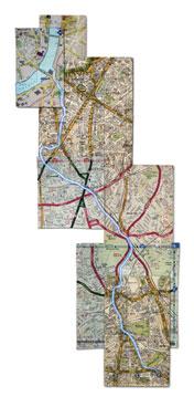 Map of river Effra London